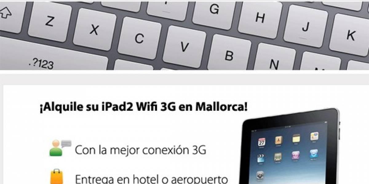 España: Alquila un iPad en las playas de Mallorca