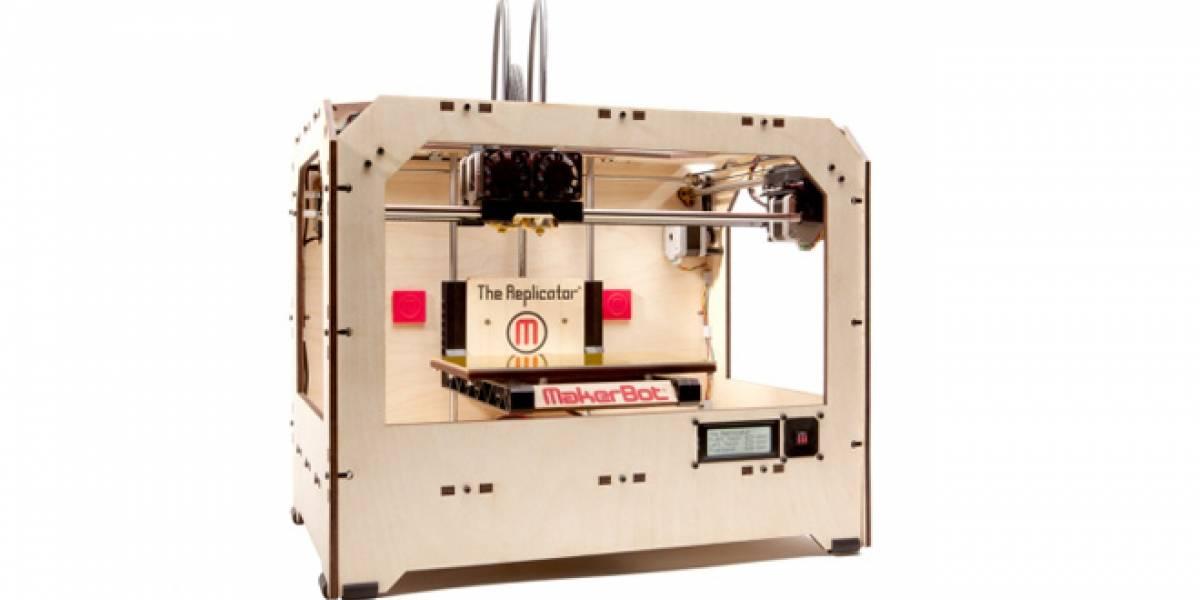 "CES 2012: MakerBot lanza ""Replicator"", una impresora 3D para objetos medianos"
