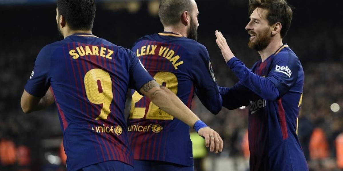Messi y Suárez meten al Barça a las semifinales de la Copa