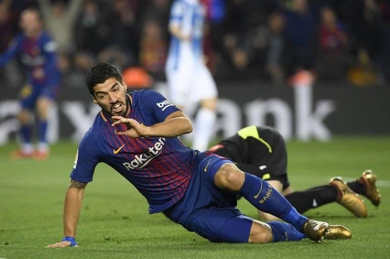 Gol de Luis Suárez contra el Espanyol