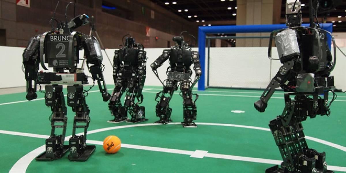 México, campeón de mundial de fútbol de robots