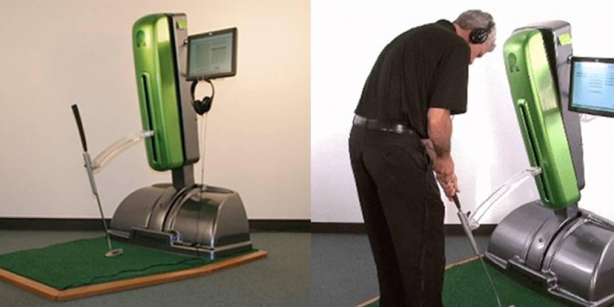 RoboPutt: la máquina que vende clases de golf