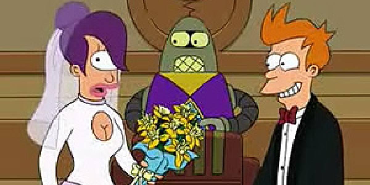 Primera boda de una pareja conducida por un robot