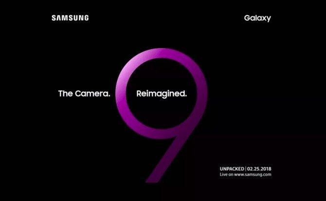Galaxy S9 Invitación