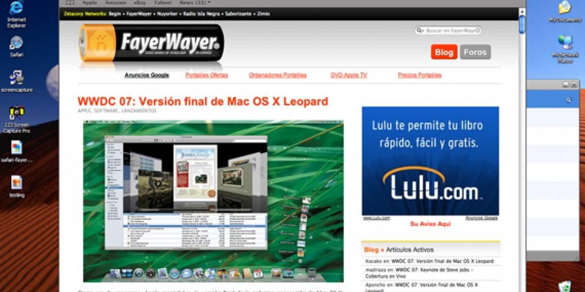 WWDC 07: Safari para Windows