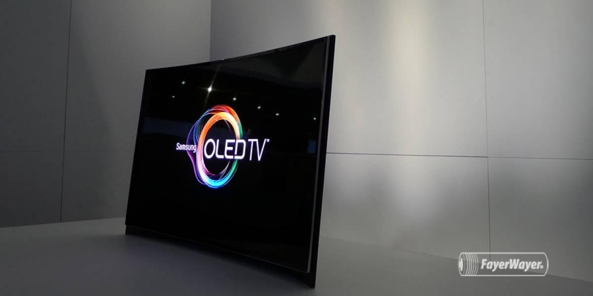 CES 2013: Los primeros OLED curvos del mundo a primera vista