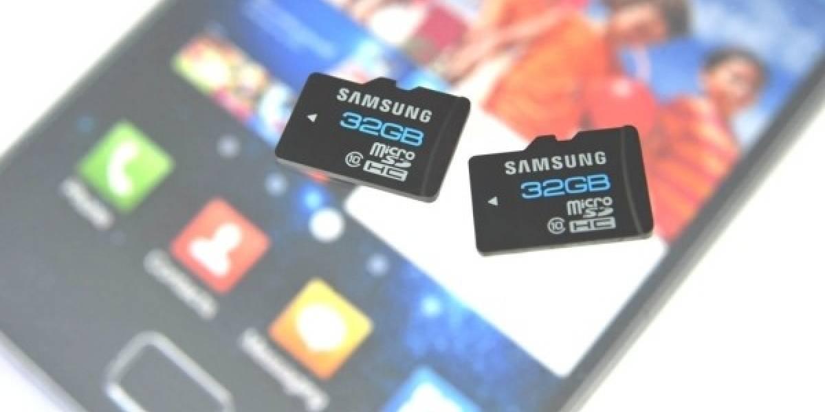 Samsung lanza tarjeta de memoria para móviles 4ta generación