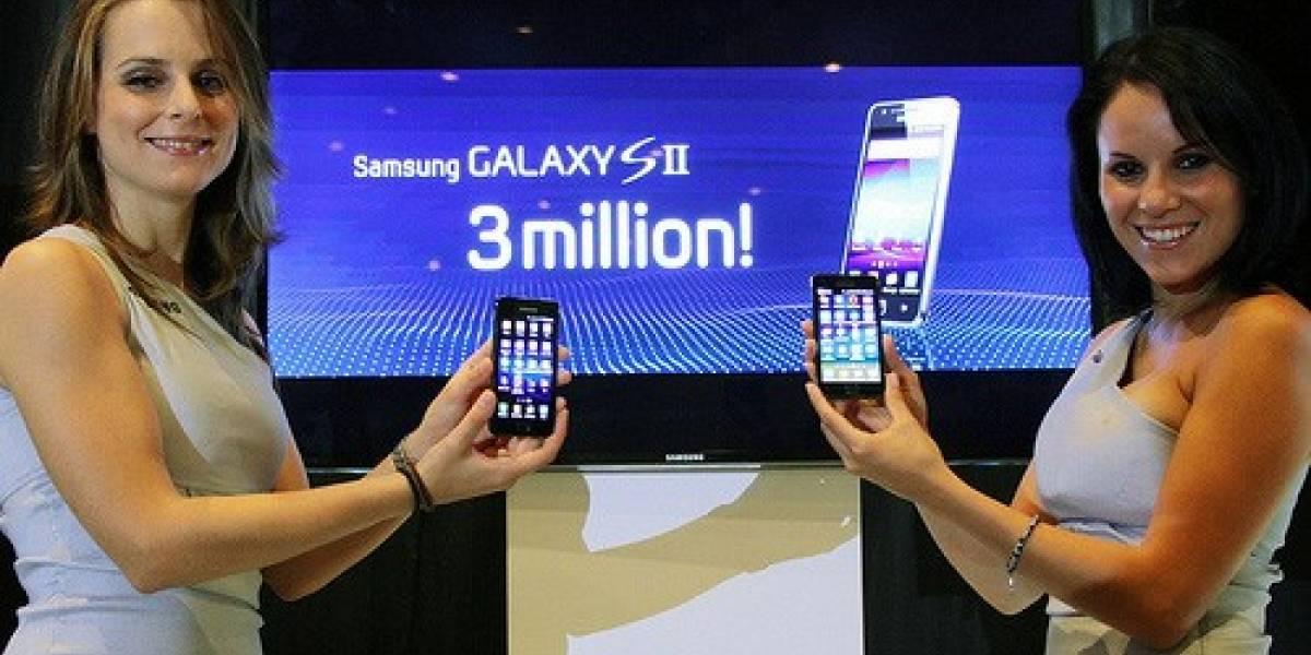 El Samsung Galaxy S II vende 3 millones de unidades en 55 días