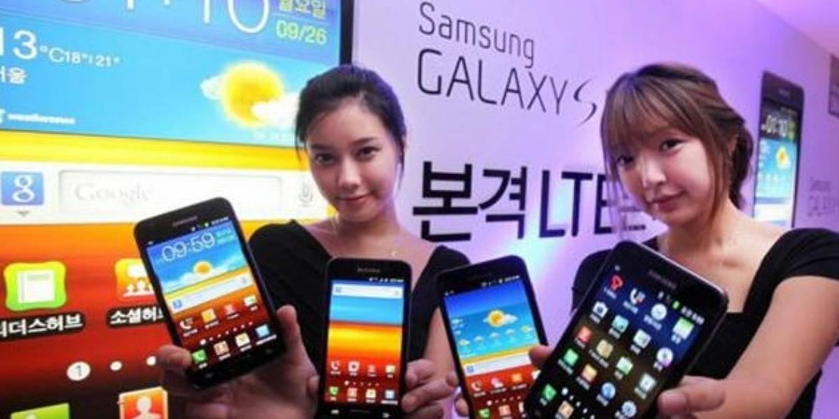 Samsung presentó en Surcorea dos nuevos modelos del Galaxy S II con soporte LTE-4G