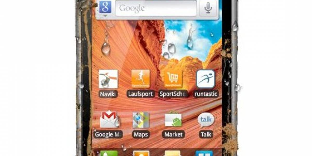 Samsung Galaxy Xcover: Un smartphone resistente a todo