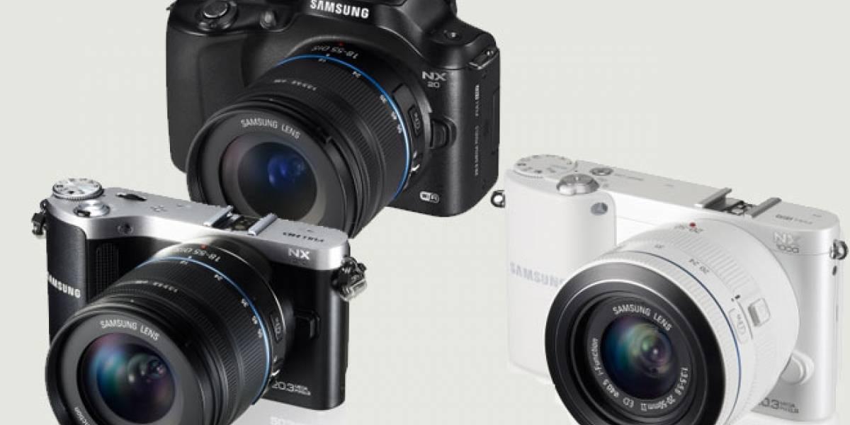 España: Samsung presenta nuevas cámaras serie NX con WiFi integrado