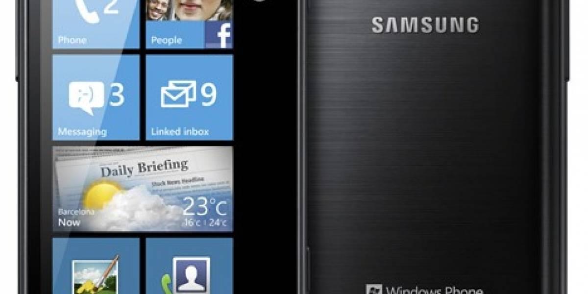 Samsung presenta el Omnia W con Windows Phone Mango