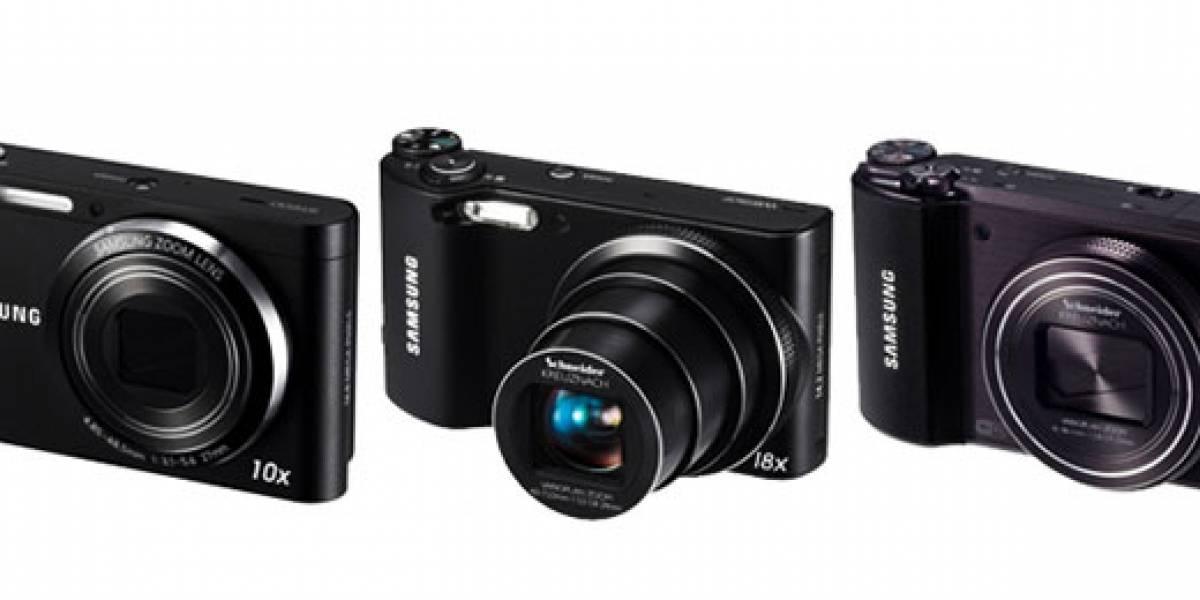 CES 2012: Samsung presenta más cámaras 'inteligentes' con WiFi integrado