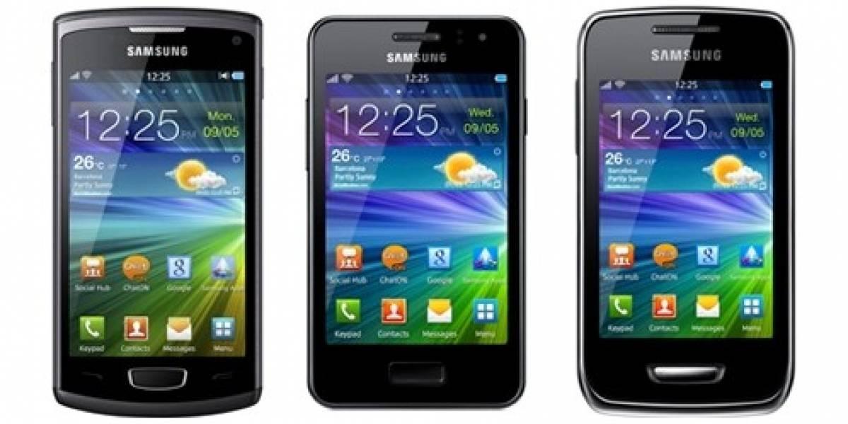 Samsung anuncia 3 nuevos equipos con Bada 2.0, el Wave 3, el Wave M y el Wave Y