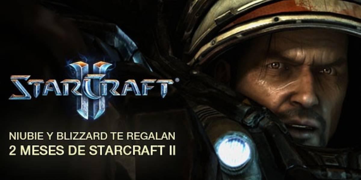 Niubie y Blizzard te regalan StarCraft II [NB Aniversario]