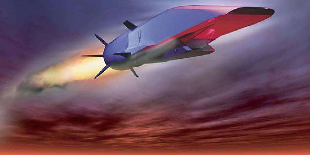 Jet estadounidense rompe récord de vuelo hipersónico