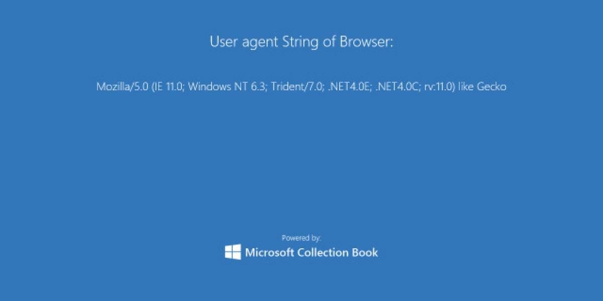 Internet Explorer 11 se disfraza de Firefox para no recibir CSS especial