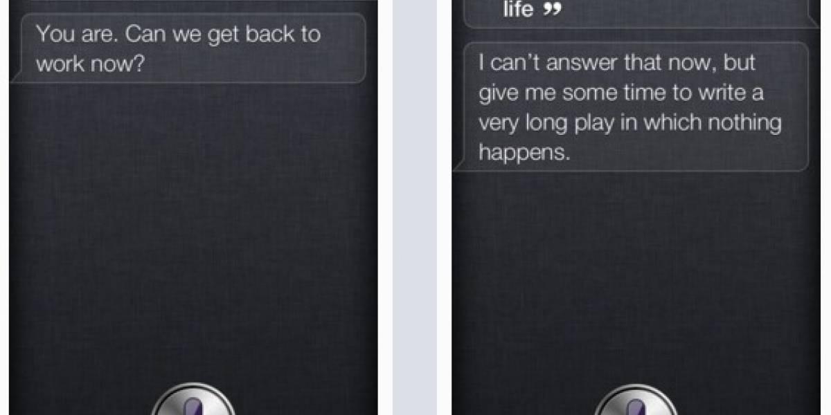 Asistente personal Siri del iPhone 4S también tiene sentido del humor