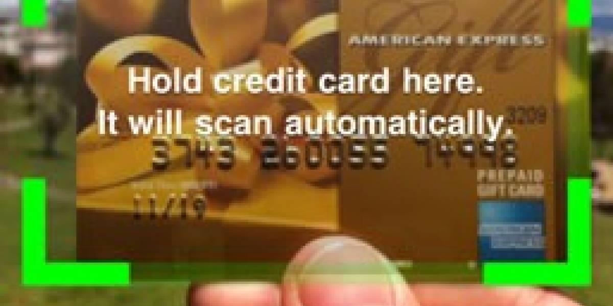 Card.io, el escáner móvil de tarjetas de crédito