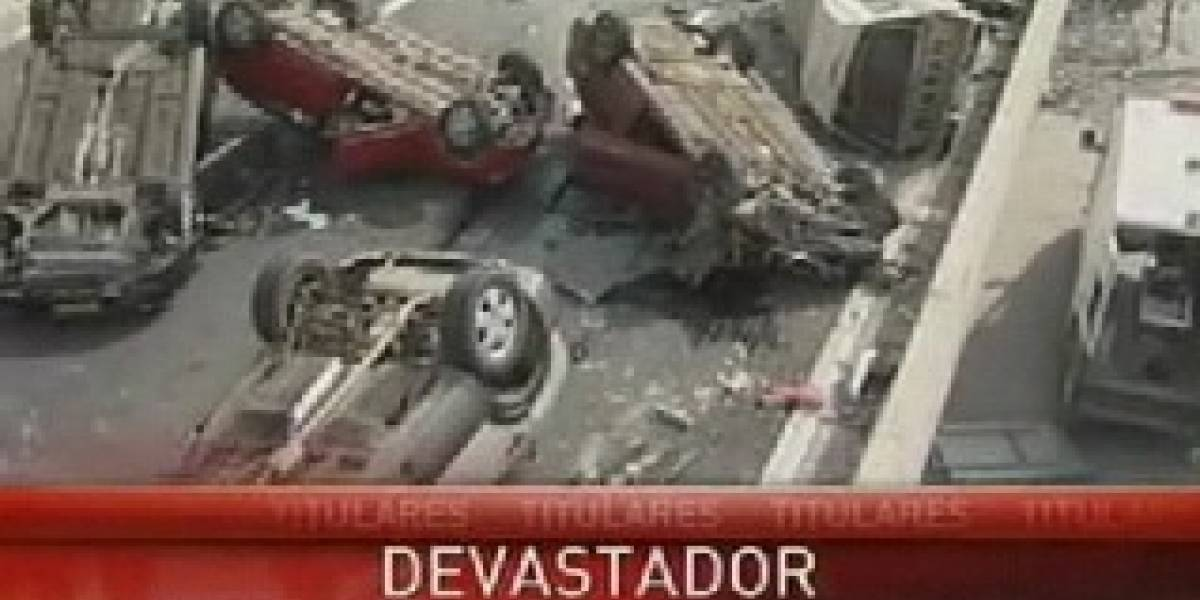 Terremoto Chile: Transmisión En Vivo de TV Chile