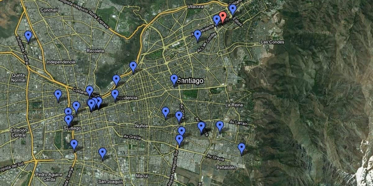 Terremoto Chile: Mapa Comercio Activo en Tu Ciudad