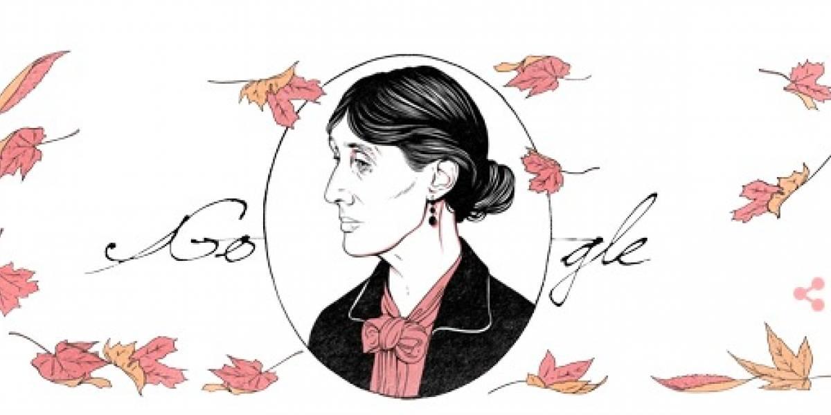 Google celebra 136 aniversario de Virginia Wolf con un Doodle muy especial