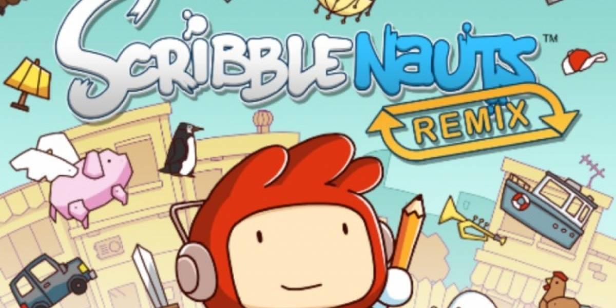 Scribblenauts Remix llega a los dispositivos iOS
