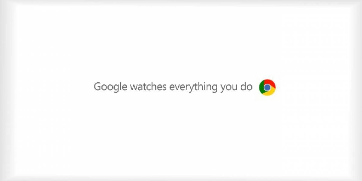 """Microsoft se burla de la publicidad de Chrome en nueva campaña """"Scroogled"""""""