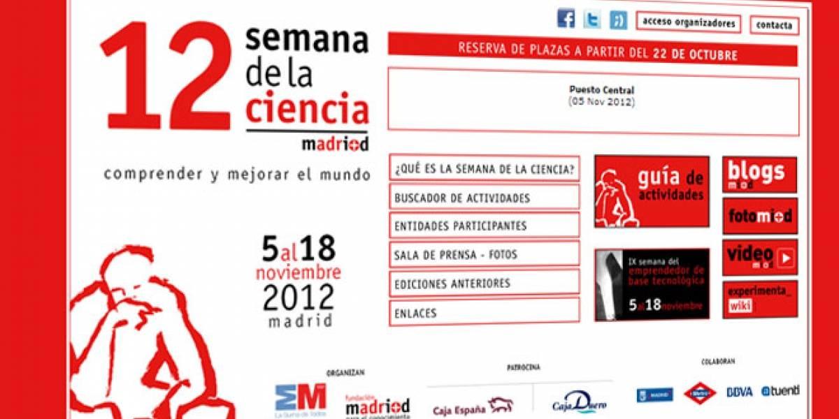Hoy arranca la Semana de la Ciencia en Madrid: Conoce sus actividades