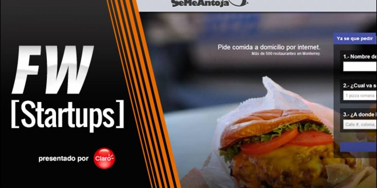 SeMeAntoja, una nueva forma de pedir comida por internet [FW Startups]