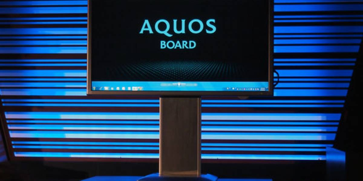 CES 2012: Sharp presenta una pantalla multitáctil de 80 pulgadas