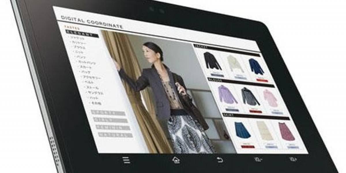 Sharp lanzará en septiembre la RW-T107, un tablet Android con lector NFC incorporado