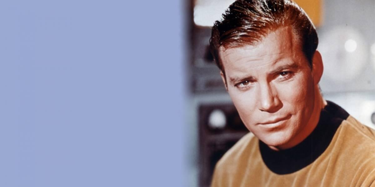William Shatner se comunica con el espacio exterior