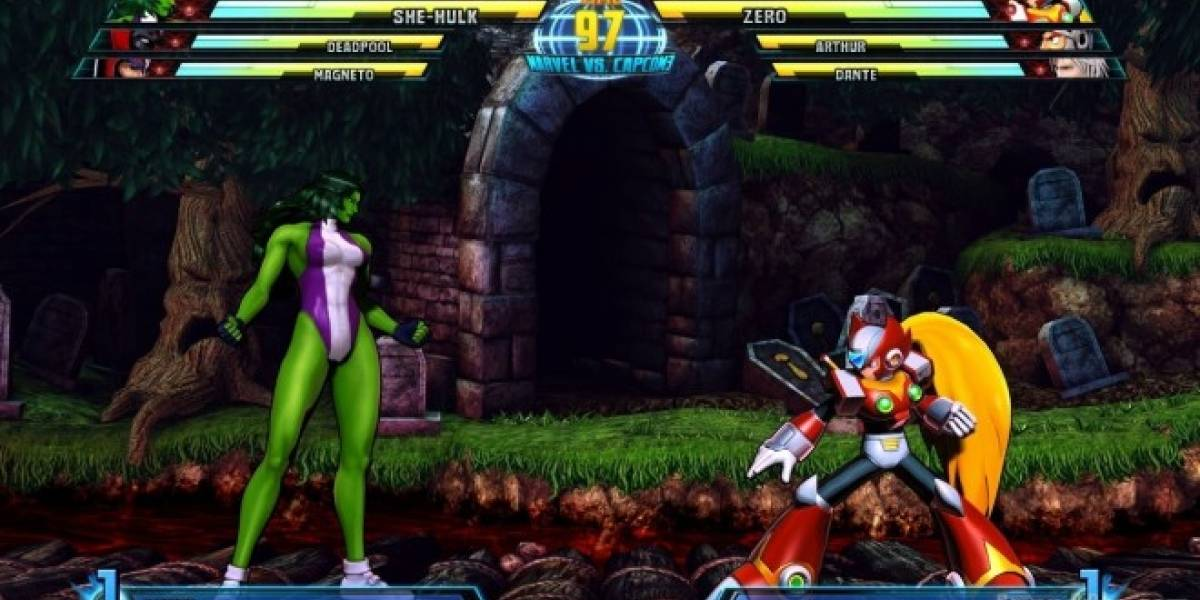 She-Hulk y Zero se unen a Marvel Vs. Capcom 3