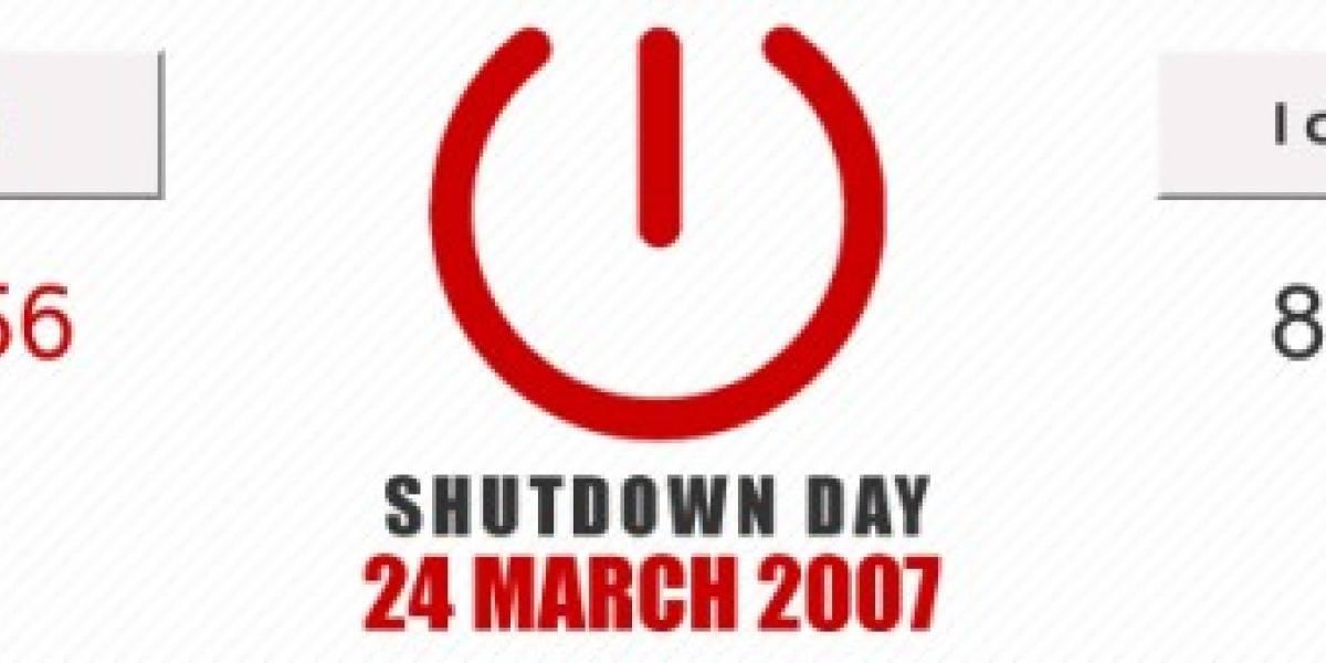 Mañana es el día del apagón mundial