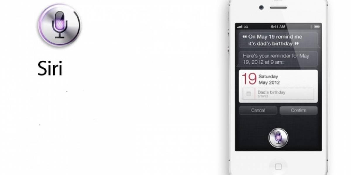 Siri, el nuevo asistente de voz del iPhone 4S
