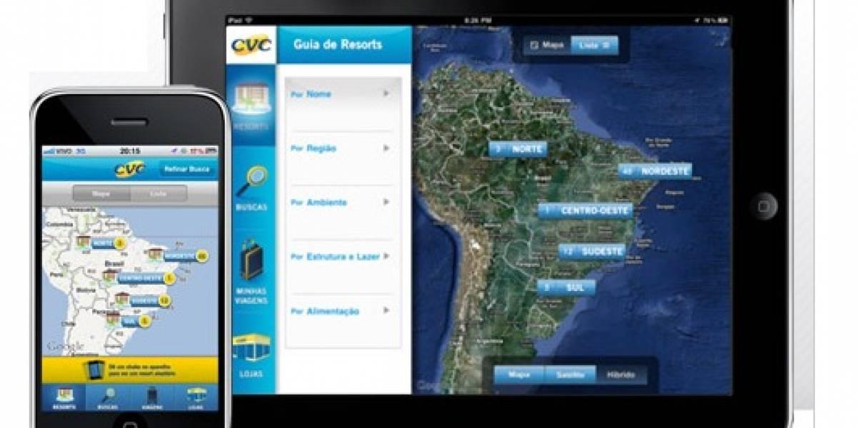 CVC, principal operador turístico brasileño, lanza una aplicación para iOS con resorts