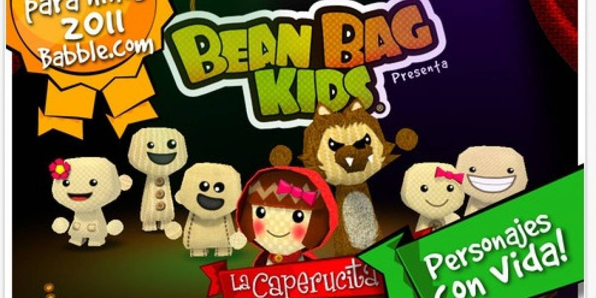 Mundomono lanza una nueva versión de La Pequeña Caperucita Roja de los Bean Bag Kids