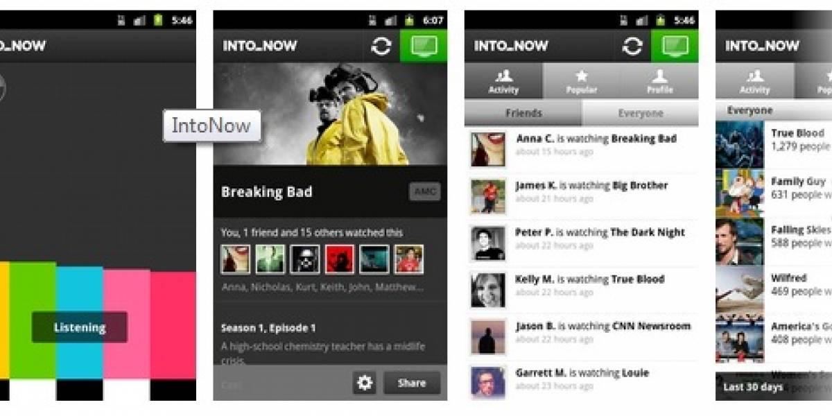IntoNow ya está disponible para Android