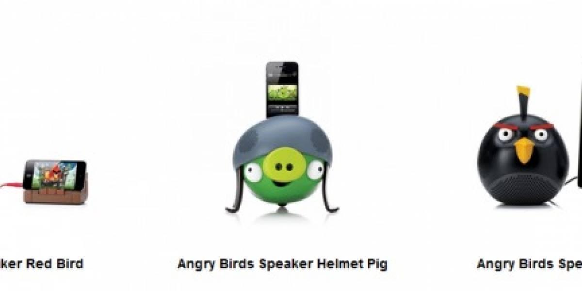 IFA 2011: Lanzan docks de Angry Birds