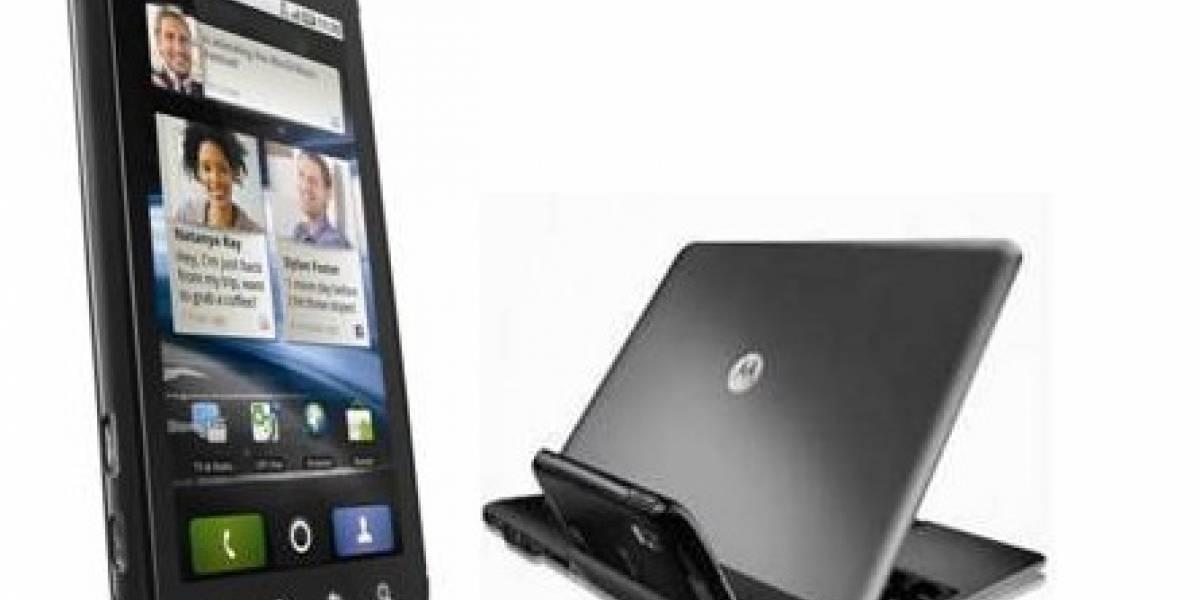 Motorola lanza el Atrix y su Lapdock a través de la operadora Claro Chile