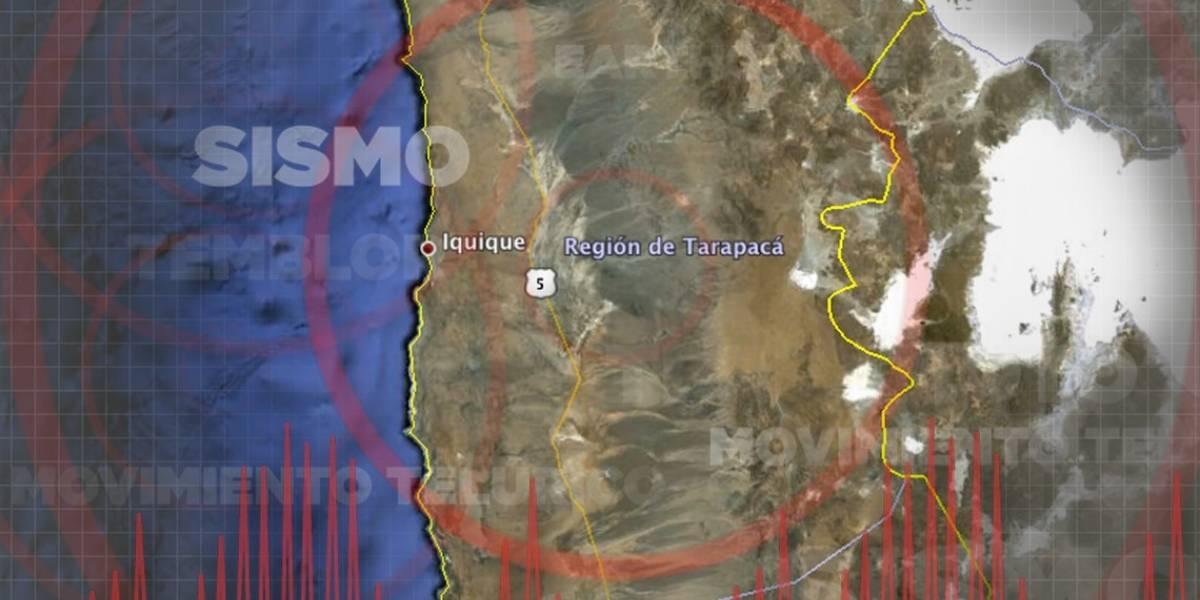 Sismo de 5,2 despierta a los habitantes del extremo norte de Chile