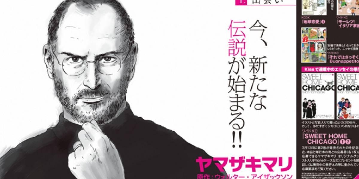 Llevan la vida de Steve Jobs a las historietas japonesas