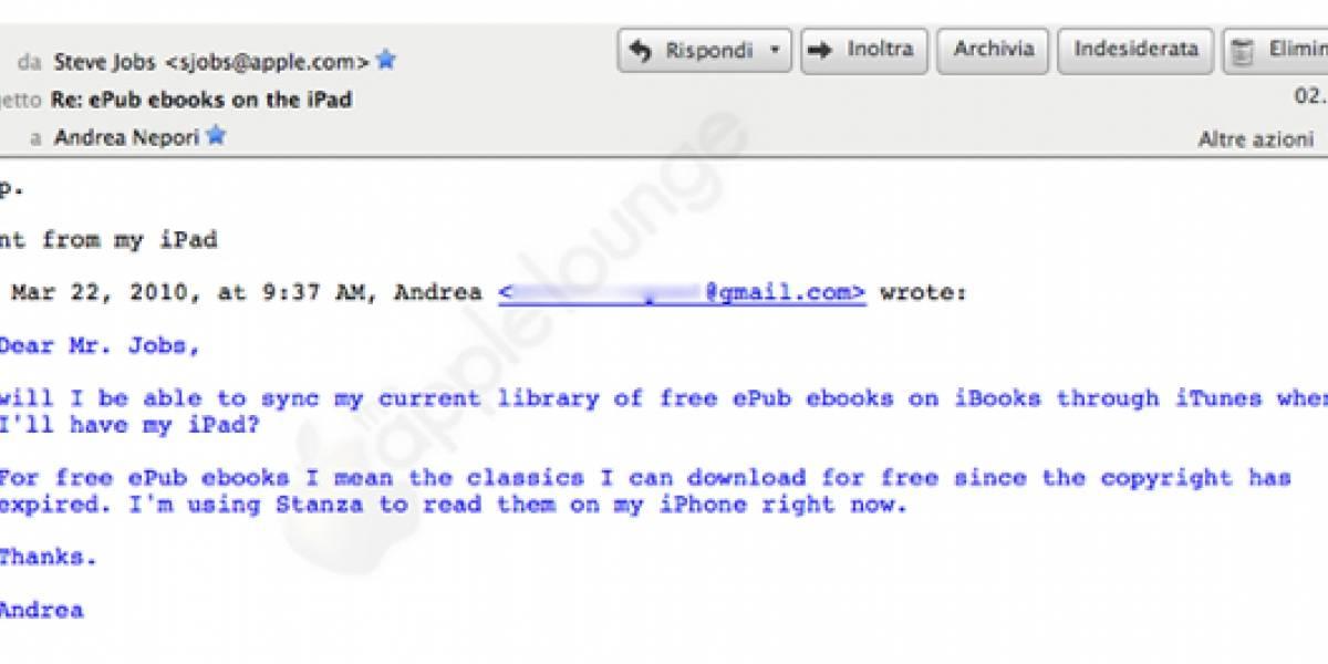 iPad en América Latina para variar sin fecha, mientras Jobs manda mails
