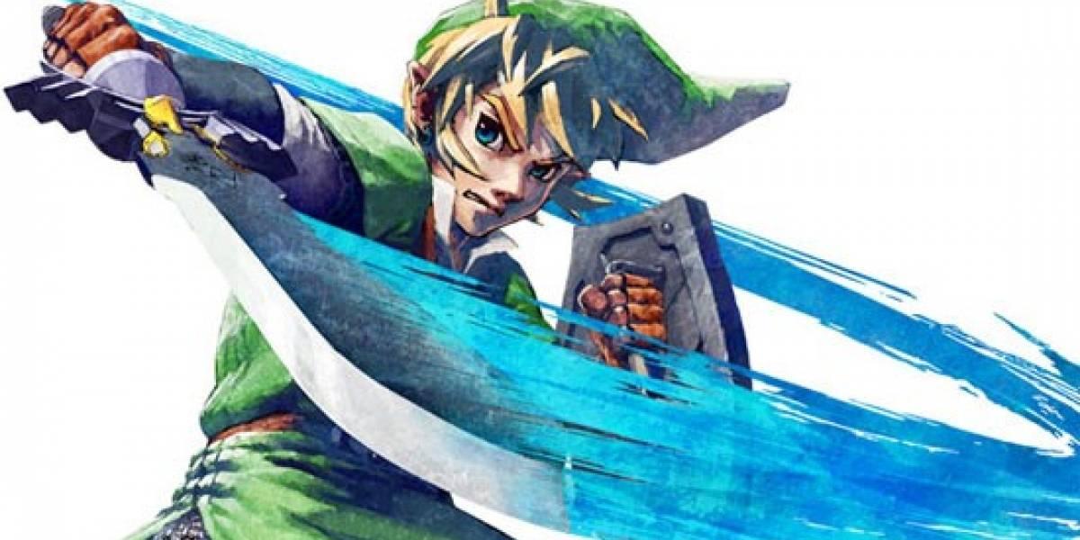 Zelda: Skyward Sword llegará después que el remake de Ocarina