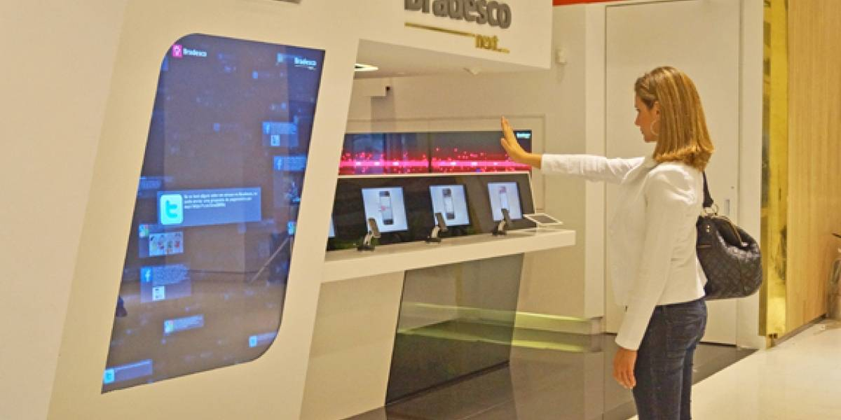 Inauguran en Brasil la sucursal bancaria 'mais tecnológica do mundo'
