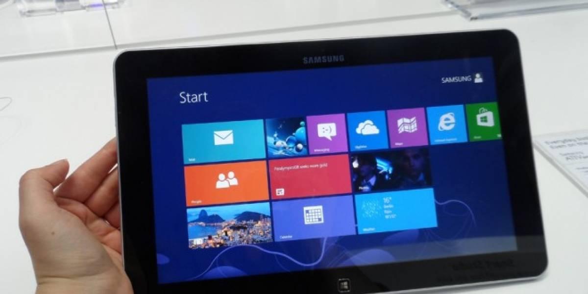 Samsung presenta los equipos que lanzará con Windows 8