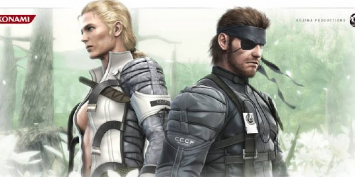 Konami confirma Metal Gear Solid: Snake Eater para 3DS