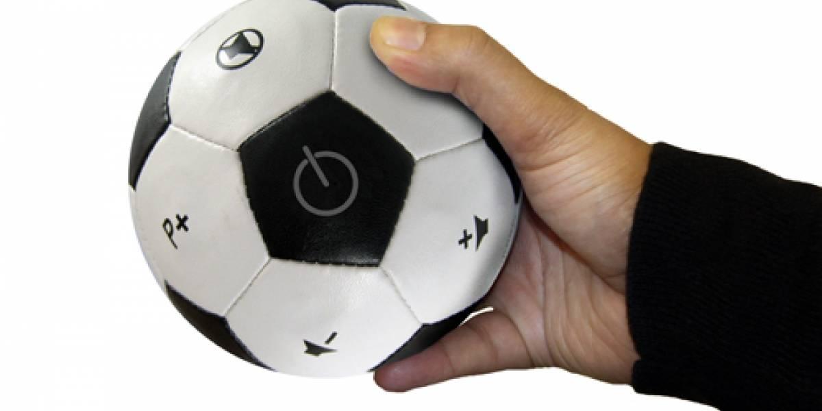 WTF? Control remoto con forma de balón de fútbol