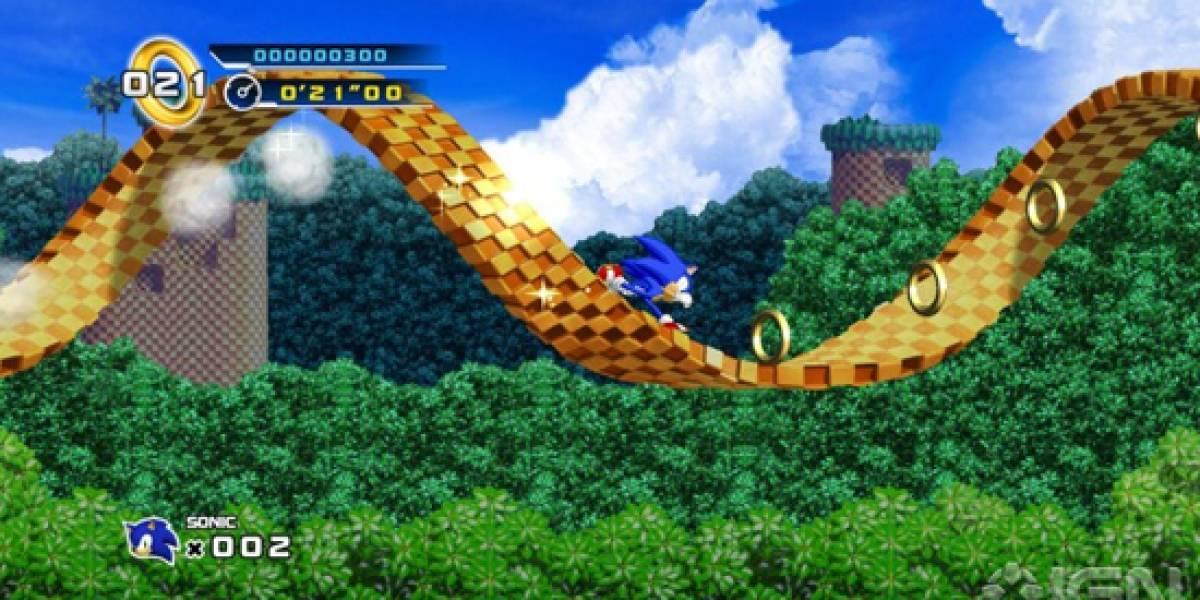 Sonic The Hedgehog 4: Episode 1 ya tiene fecha y precio